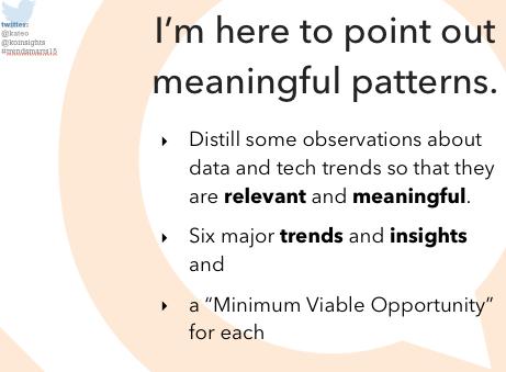 slide from 2015 Trends talk